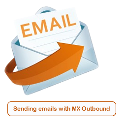 Sending SMTP emails with MXO